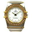 時計 オメガ コンステレーション ダイヤベゼル レディース ★送料無料★【中古】【あす楽】
