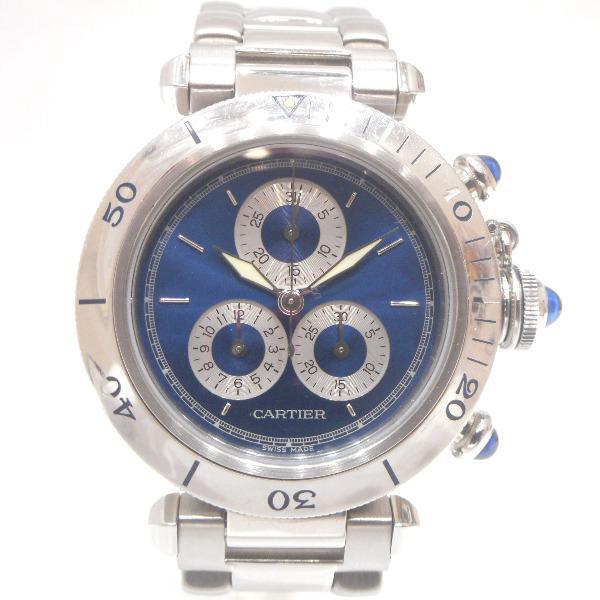 時計 カルティエ Cartier パシャC 35mm クォーツ メンズ腕時計 ★送料無料★【】【】 激安!ブランド時計【S2】