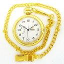 時計 オリエント 懐中時計 手巻き ゴールド DD00-A0-B ★送料無料★【中古】【あす楽】