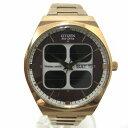 時計 シチズン オルタナ クリストロン ソーラーセル エコドライブ VO10-6643S メンズ 腕時計 ★送料無料★【中古】【あす楽】