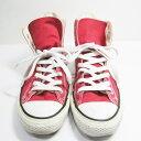 コンバース オールスター レッド ハイカット 靴 スニーカー メンズ ★送料無料★【中古】【あす楽】