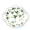 ショッピング皿 ウエッジウッド ワイルドストロベリー ウィンザートレイ Sサイズ マルチトレー 食器 皿 ユニセックス 小物 ★送料無料★【中古】【あす楽】