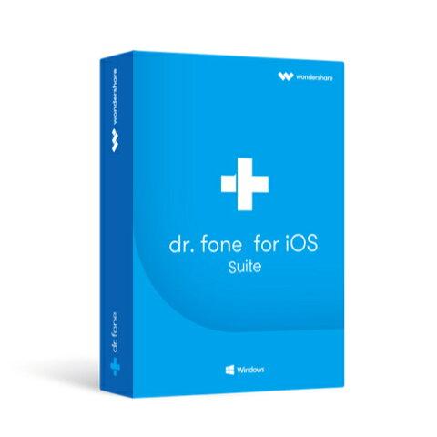 永久ライセンス【送料無料】Wondershare Dr.Fone for iOS Suite(Win版) iPhone iPad iPod Touch データ復元ソフトiPhone 連絡先 写真復元 iPhone起動障害から修復 LINE・Viber・Kik・WhatsAppバックアップ・復元 データ復元 復旧 回復|ワンダーシェアー