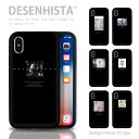【 DESENHISTA™ 】iPhone11 X/XS XR対応 スマホケース TPU 耐衝撃 プロテクタ ハードケース スライドケース ICカード iPhoneXS M..