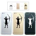 iPhone7 ケース iphone7 Plus ケース iphone6s ケース iphone6 Plus ケース クリアタイプ アイフォン6s アップル ドレス アーチェリー 弓 矢 怖い 射撃 拳銃 スポーツ リンゴマーク iPhone6s アイフォン アイフォーン Apple savi00006