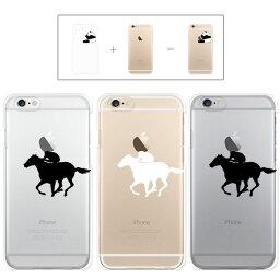 iphone7 ケース iphone7 Plus ケース iphone6s ケース iphone6 Plus ケース クリアタイプ アップル ドレス 馬 競馬 乗馬 ホース レース クリアケース カバー ケース スマホケース リンゴマーク iPhone6s アイフォン アイフォーン プラス Apple savi00006