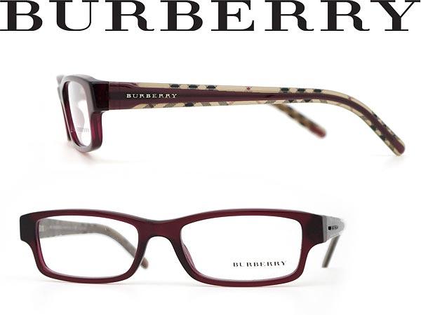 Burberry Red Eyeglass Frames : woodnet Rakuten Global Market: Glasses Burberry dark red ...