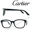 Cartier メガネフレーム カルティエ メンズ&レディース ブラック 眼鏡 CT-0133OA-...