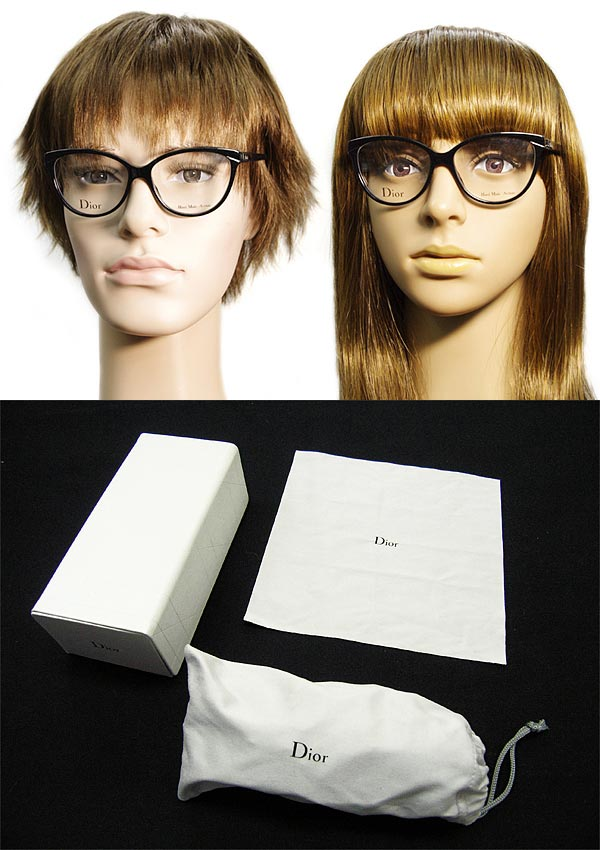 glasses christian dior black christian