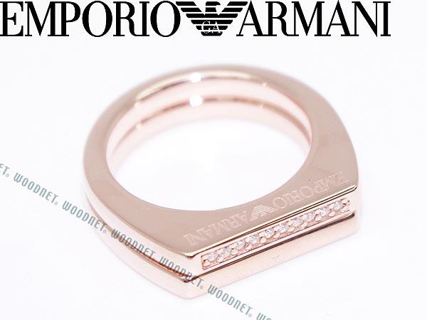 【送料無料】EMPORIO ARMANI 2連リング・指輪 ゴールド シルバー925 エンポリオアルマーニ アクセサリー EG3215221 ブランド/メンズ&レディース/男性用&女性用 人気のEMPORIO ARMANIエンポリオアルマーニ指輪・リング!