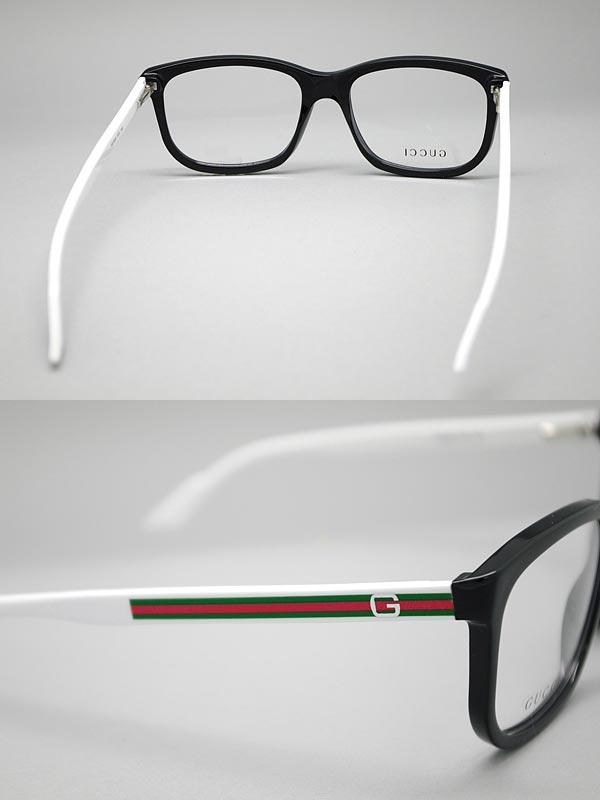 White Gucci Eyeglass Frames : woodnet Rakuten Global Market: Glasses Gucci blackx...