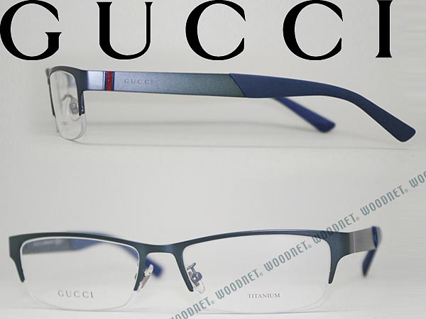 Gucci Eyeglass Frame Parts : men s blue eyeglass frames Wrap Yourself Thin
