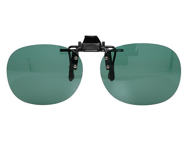 メガネに簡単取付 偏光クリップサングラス ダークスモーク アイウェア備品 CL-400-C メンズ&レディース/男性用&女性用/紫外線UVカットレンズ/ドライブ/釣り/アウトドア/おしゃれ
