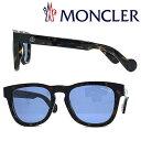 MONCLER サングラス モンクレール メンズ&レディース ブルー ML-0098-52V