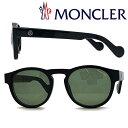 MONCLER サングラス UVカット モンクレール メンズ&レディース グリーン ML-0099-01N ブランド