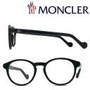 MONCLER メガネフレーム モンクレール メンズ&レディース ブラック 眼鏡 ML-5053-001 ブランド