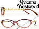 【送料無料】めがね ヴィヴィアン・ウエストウッド レッドグラデーション フォックス型 Vivienne Westwood メガネフレーム 眼鏡 VW-7039-RG WN0054 ブランド/レディース/女性用/度付き・伊達・老眼鏡・カラー・パソコン用PCメガネレンズ交換対応/レンズ交換は6,800円〜