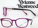 【送料無料】Vivienne Westwood 眼鏡 パープルストライプ ウェリントン型 ヴィヴィアン・ウエストウッド メガネフレーム めがね VW-7040-PT WN0054 ブランド/レディース/女性用/度付き・伊達・老眼鏡・カラー・パソコン用PCメガネレンズ交換対応/レンズ交換は6,800円〜