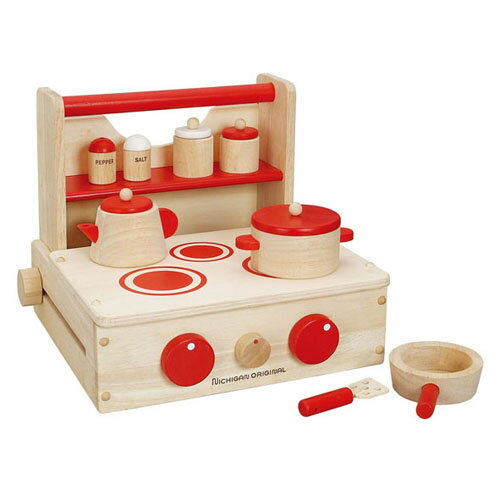 Woodpal rakuten global market cooking set toy play for Kitchen set for 1 year old