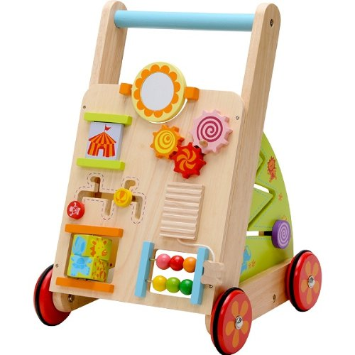 Wooden Toys For 1 Year Olds : Woodpal rakuten global market imti ベビーファーストウォーカー hand