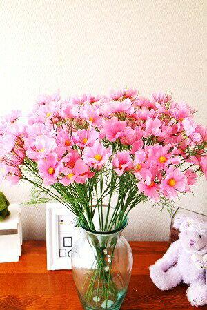 【コスモス造花】【秋】【花言葉 乙女の心】【4色よりお選び下さい】