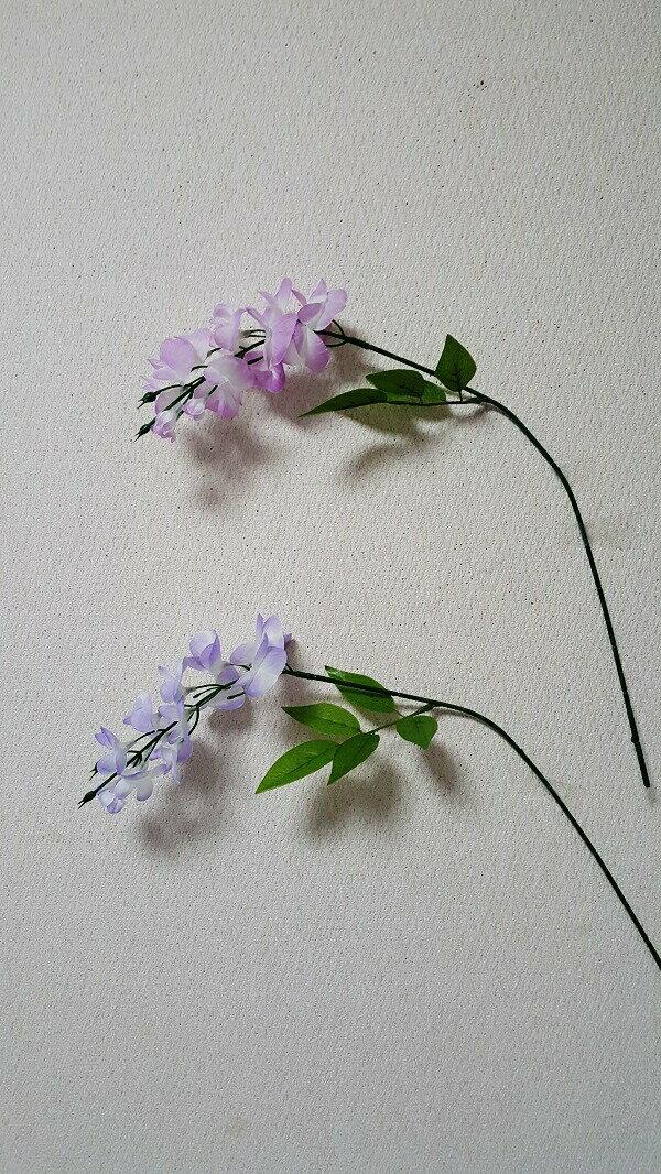 【造花藤】【フジ造花】【2色よりお選び下さい】【\98】