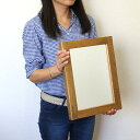 OLD ASHIBA(足場板古材)ミラー(鏡)A型 Sサイズ 塗装仕上げ355mm×270mm【アンティーク風】【受注生産】