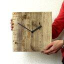OLD ASHIBA(足場板古材)掛け時計 無塗装 【小型商品】