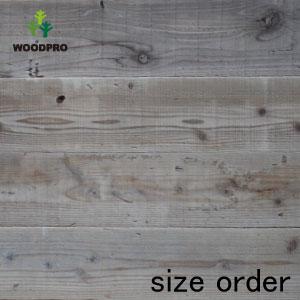 OLD ASHIBA(足場板古材)フリー板(幅つなぎ材/縁無し)厚35mm×幅770mm(4枚あわせ)×長さ1210〜1300mm 塗装仕上げ[受注生産] 【特大商品】