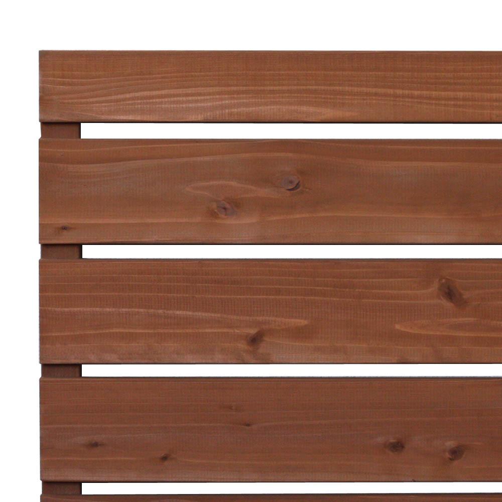 枠付きフェンス:横板C(隙間15ミリ)◇国産杉【...の商品画像