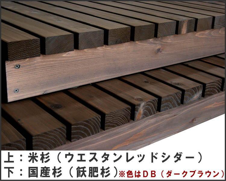 濡れ縁(ぬれえん)/板幅65mm◇国産杉間口1...の紹介画像3