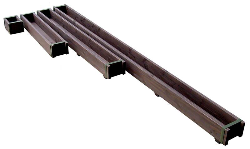 ダックスプランター140型(セミオーダータイプ)長さ210〜300mm[受注生産] 【小型商品】