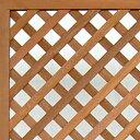 枠付きラティス/斜め格子(枠幅40mm)◇国産杉334mm×1462mm[受注生産] 【大型商品】