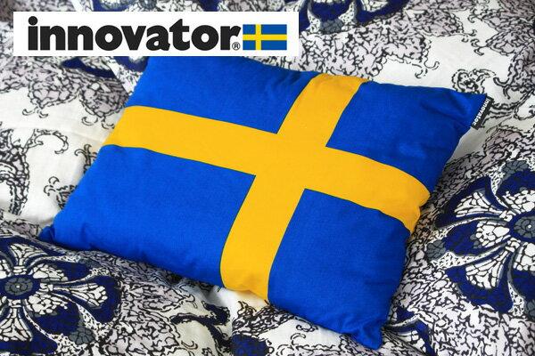 イノベーター フラッグクッション(スウェーデン国旗)