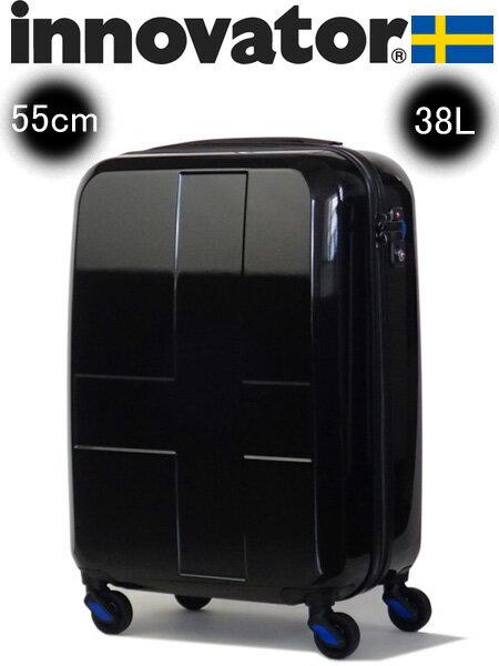 イノベーター innovator ハードキャリー ジッパーロック(38L、55cm) INV48 ブラック【あす楽対応】