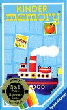 可愛いイラストで楽しむ神経衰弱ラベンスバーガー社カードゲーム キンダーメモリー