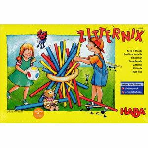 ハバ社ボードゲーム スティッキー(Zitternix)【おもちゃ歳から】【子どもお誕生日知…...:woodwarlock:10001924