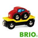 ブリオ木製レールセットにプラスして遊びが広がるBRIOレールシリーズ車両輸送車