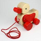 ドイツ製ひっぱるおもちゃのロングセラーニック(ヴァルター)社 プルトーイあひる【楽ギフ包装選択】【楽ギフのし宛書】