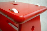 ユシーラ社のローラー椅子 赤【】