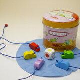 持ち運びに便利!コンパクトな缶入りゲームハバ社ボードゲームキャッチマウス