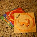 魔法の板 カプラ(KAPLA)カプラデザインブック第4巻 茶