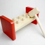 玩具Hanmatoi Ronguserayushira的超级乐趣击败褪色(红色)[ユシーラ社の叩くおもちゃ ハンマートーイ(赤)]