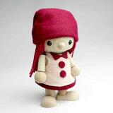 四肢动!穆Dooru女孩枫嗯最上层木娃娃[おもちゃのこまーむこまむ・どぉるかえで女の子]