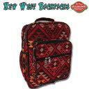 ショッピングバック エルパソ サドルブランケット ネイティブ柄 ニューウエスト バックパック 22L (Fタイプ)( リュック リュックサック バッグ 鞄 )
