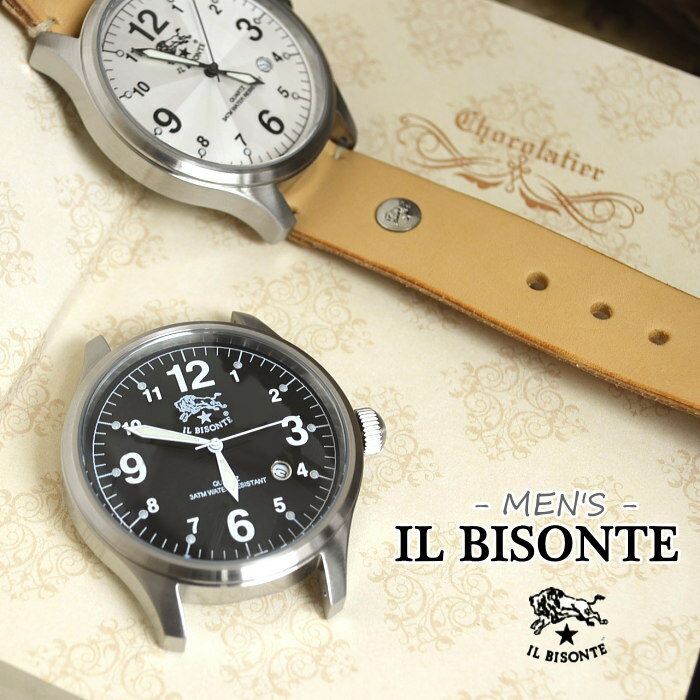 ☆(5422310597)IL BISONTE(イルビゾンテ)アナログクォーツムーブメント/文字盤 (メンズ)【送料・き手数料無料】【ゆうパケット対象外】S