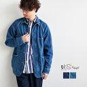 [03-6140-81/84] orSlow(オアスロウ)DENIM COVER ALL (50's デニムカバーオール)【送料・代引き手数料無料】【メール便対象外】N