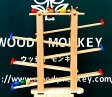 【木のおもちゃ スロープ】 プレジャーガーデン プレイミー PlayMeToys 【送料無料 知育玩具 木のおもちゃ スロープ ニックスロープ】