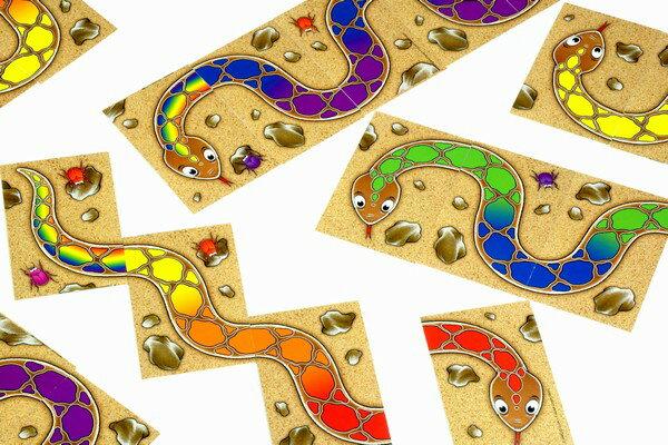 カードゲーム アミーゴ 虹色のへび...:woodymonkey:10000874