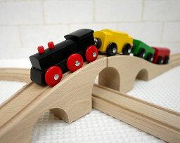 【特割】ミッキィ社 MICKI 木製レール 汽車セット スタンダード 木のおもちゃ 木製 汽車 レール 知育玩具 出産祝い ミッキー お誕生日 送料無料 smtb